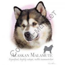 Аляскинский маламут футболка